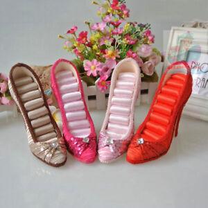 elegant-High-Heel-Shoe-Jewelry-Ring-Holder-Display-Organizer-Stand-tall-13cm