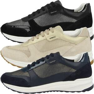 Details zu GEOX D Airell C Schuhe Damen Freizeit Sneaker Sport Turnschuhe D642SC0LY22C