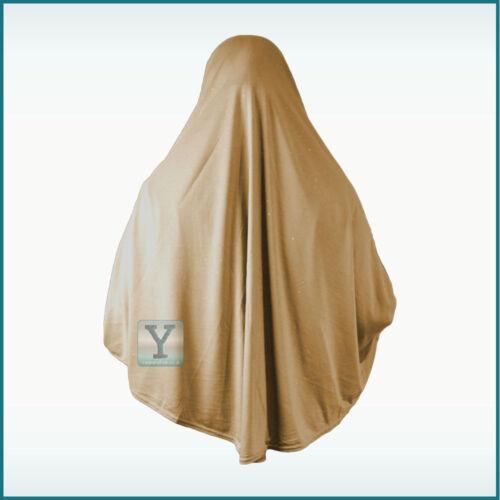 XL one Piece glitter Amira Hijab Khimar Jilbab Abaya Scarf pull on ready made
