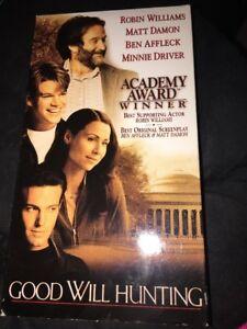 Details About Good Will Hunting Vhs 13559 1998 Robin Williams Ben Affleck Matt Damon