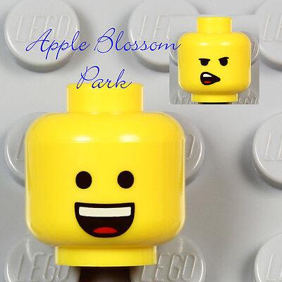 Movie Boy//Girl w//Classic Minifigure Smile NEW Lego EMMET MINIFIG YELLOW HEAD