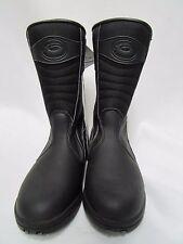 Sidi Jasmine Rain Proof Women's Black Motorcycle Touring Boots size 37 EU,5.5 US