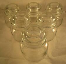 NEW Glass Candle Apothecary Jar & Lid Clear Candy Wedding Jars Small 12oz Lot 6