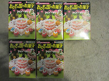 Re-ment Fairy Tale Sweets cakes cookies miniatures Lot of 5 New Sealed Boxes