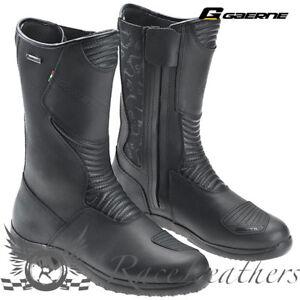 Stivali adventure touring moto GAERNE G.HYBRID GORE TEX black nero 2438001 | eBay
