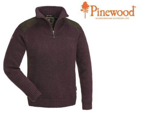 """Damen Strick Sweater Pinewood /""""Hurricane/"""" Windicht Atmungsaktiv"""