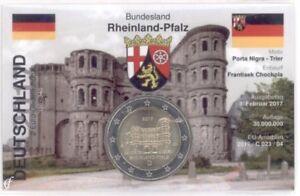 2-Euro-Coincard-Infokarte-Deutschland-2017-Porta-Nigra