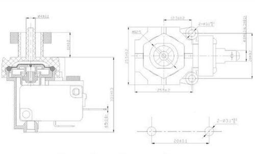 Spa Hot Tub Bath Pump Blower Air Switch switches pump air switch for TDA