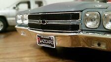 1/18 scale CUSTOM Arizona cardinal license plate for diecast car truck az card