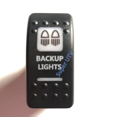 ZOMBIE LIGHTS SWITCH ORANGE LIGHT ROCKER CAN-AM COMMANDER MAVERICK X3 AMBER
