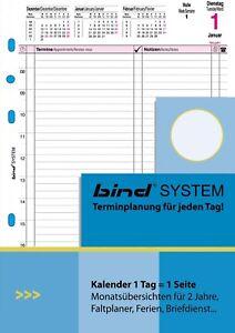 bind Kalendereinlage A5 für 2021