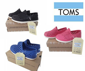 436fe0b0704 Toms Tiny Rompers Kids Toddler Slip On Water Resistant Shoes Eva