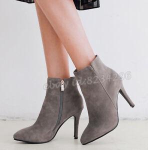 Einfach-Schuhe-Damenstiefel-Kurzer-Stiefeletten-Hochabsatz-Boots-Ankle-Pumps-47