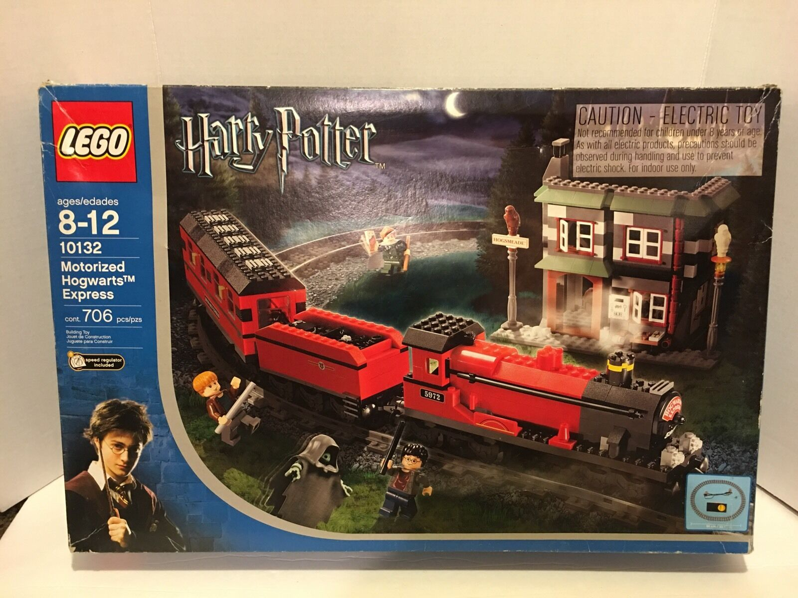 Rare Lego 10132 Harry Potter Motorized Hogwarts Express Express Express NEW in open Box a0c0e5