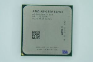 Details about AMD A8 series A8-3850 2 9GHz Quad-Core (AD3850WNZ43GX)  Processor w/Grease
