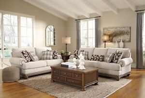 Ashley Furniture Harleson Sofa And Loveseat Living Room Set Ebay