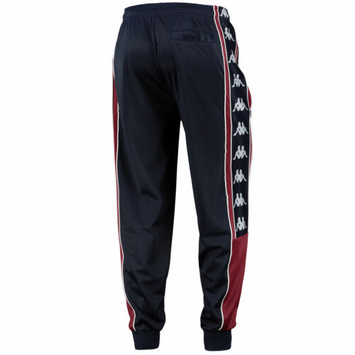 Mens Navy Aston Villa Kappa Retro Pants