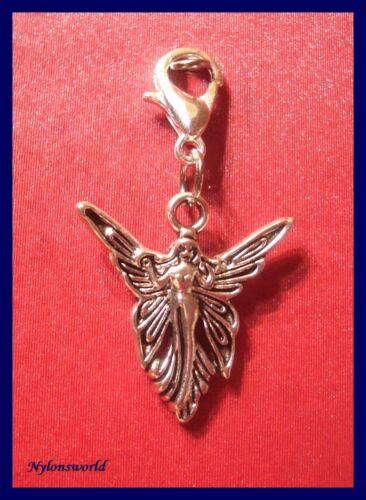c200 Zauberhafter Engel Charms Armband Anhänger Kettenanhänger  Karabiner NEU