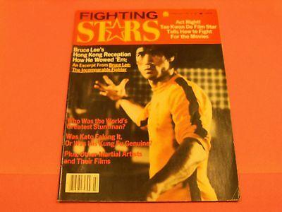 C/ FEB.1979 FIGHTING STAR MAGAZINE BRUCE LEE, MARTIAL ARTS,KARATE,JEET KUNE DO