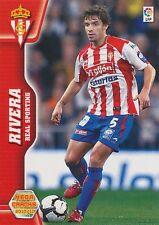N°299 RIVERA # SPORTING GIJON CARD PANINI MEGA CRACKS LIGA 2011