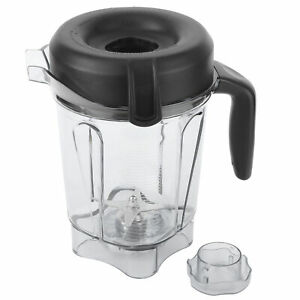 For-Vitamix-64-oz-Transparent-Food-Blender-Container-Accessories-W-Lid-amp-Blade