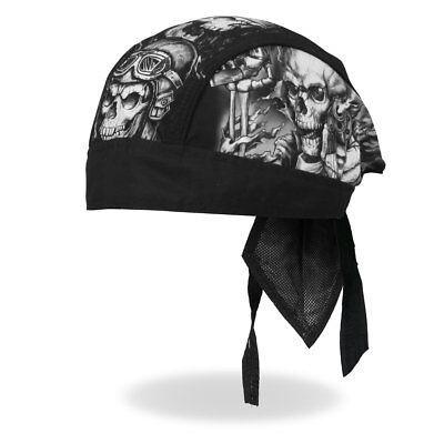 SUGAR WOMAN Bandana Kopftuch Headwrap Biker Chopper Cap Biker Harley Skull Girl