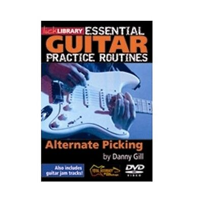LICK LIBRARY Essential Guitar Practice Routines Alternate Picking RDR0178 DVD