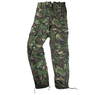 Used Genuine British Forces Soldier 95 Black Ripstop Combat Field Trouser SAS