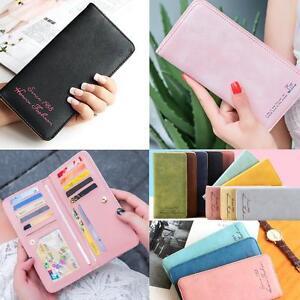 Fashion-Womens-Leather-Bifold-Wallet-Clutch-Card-Holders-Lady-Purse-Long-Handbag