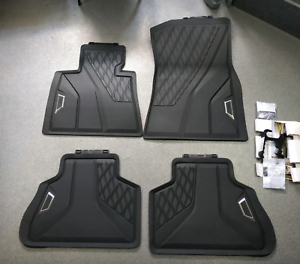 BMW Black All Weather Floor Mats SET 2019-2021 G05 X5 35i ...