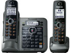 Panasonic KX-TG7642M 1.9 GHz Dual Handsets Single Line Cordless Phone