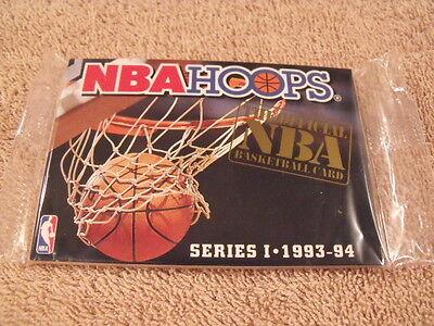 Rare 1993-94 NBA HOOPS Series I Factory Sealed Basketball Rookie Card Set