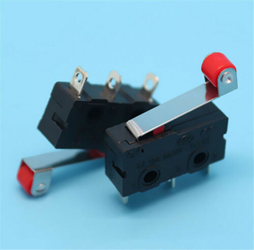 5x//Set Micro Roller Lever Arm Open Close Limit Switch KW12-3 PCB MicroswitcYJUS