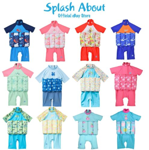 Splash About UV Float Suit with adjustable buoyancy Learn to Swim Floatsuit