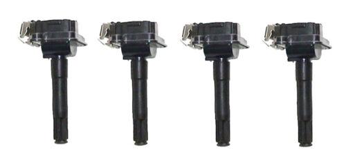 Set of 4 Direct Ignition Coils for Audi A4 A6 2.7LVW Passat 1.8L 058905105 NEW