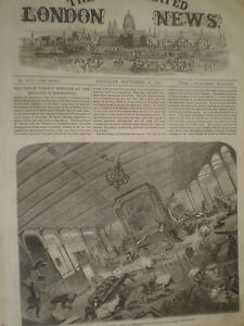 Chubasco-golpea-la-ss-Great-Eastern-1861-antiguos-impresion