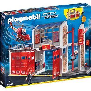 PLAYMOBIL Große Feuerwache, Konstruktionsspielzeug