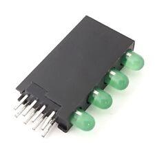 Green 3mm Quad Level Led Pcb Indicator Lights Kingbright L 96xsb4gd 200 Pcs