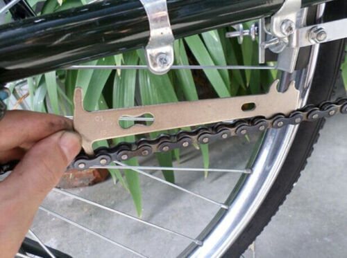Bicycle Bike Chain Checker Wear Indicator Measure Tool Gauge Repair checker   SG