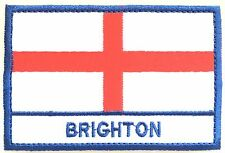 Brighton England Town & City Embroidered Sew on Patch Badge