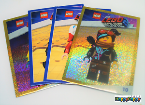 LEGO-The-Lego-Movie-2-Super-Tauschkarten-zum-Auswahlen