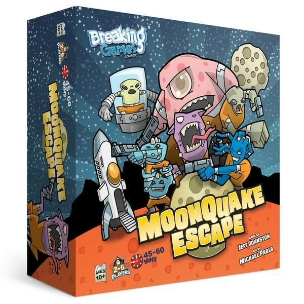 Moonquake Escape  - BRAND NEW