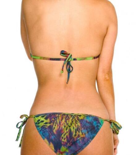 Kiniki Amalfi Tan Through Sonnendurchlässiger Seitlich Zu Bindender Bikini Tanga