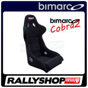Racing-Seat-BIMARCO-COBRA-II-BLACK-VELOUR-CHEAP-AND-FAST-DELIVERY