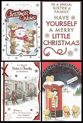 MAM ~ Quality CHRISTMAS CARD with Fab Verses Choice of Design