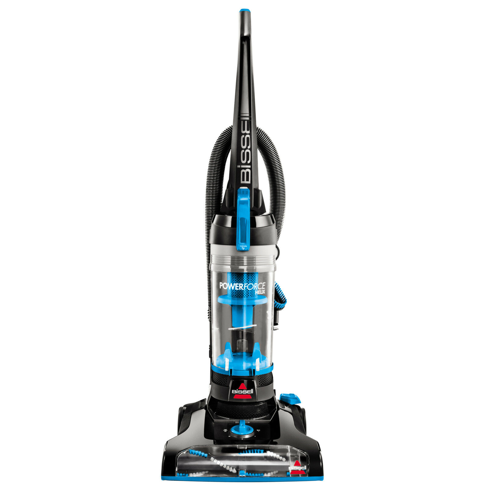 BISSELL PowerForce Helix Bagless Upright Vacuum Cleaner Carpet Cleaning bluee NEW