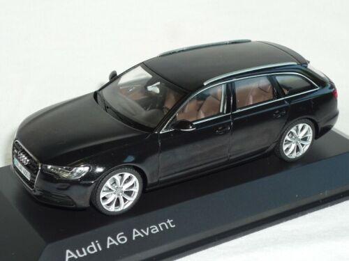 Audi a6 a 6 c7 C 7 avant a partir de 2011 phantom negro 1//43 Schuco modelo auto Modella
