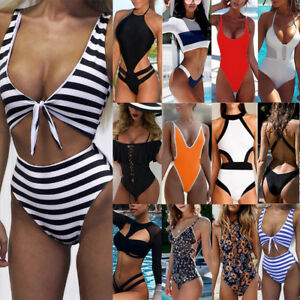 Sexy-Women-One-Piece-Push-Up-Bikini-Bandage-Monokini-Swimsuit-Bathing-Swimwear-S