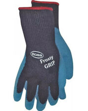 New Boss 8439xl X Large Frosty Grip Insulated Rubber Coated Chemical Gloves