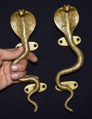 Snake Shape Brass Door Handle Unique Style Window Pull Hardware Door Handle BM25
